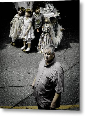 They See Real People Metal Print by Christy Usilton