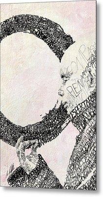 Thich Nhat Hanh Metal Print
