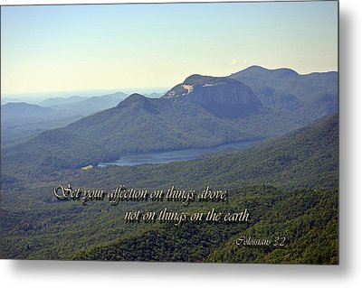 Things Above Metal Print by Larry Bishop