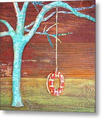 Things Will Swing Around Metal Print by Danny Phillips