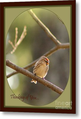 Thinking Of You Metal Print by Leone Lund