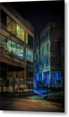 Third Ward Alley Metal Print by Scott Norris