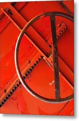 Third Wheel Metal Print by Tom Druin