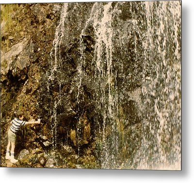 Thirsty Metal Print