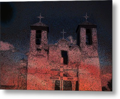 Metal Print featuring the digital art This  by Cathy Anderson