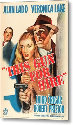 This Gun For Hire Metal Print by MMG Archives