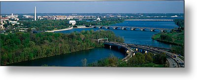 This Is An Aerial View Of Washington Metal Print by Panoramic Images