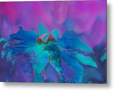 This Is Not Just Another Flower - Bpb02 Metal Print by Variance Collections