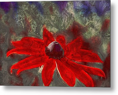 This Is Not Just Another Flower - Spr01 Metal Print by Variance Collections