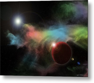 This Is Not Space Metal Print