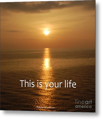 This Is Your Life Metal Print by Linda Prewer