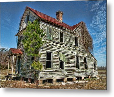 This Old House 2 Metal Print by Victor Montgomery