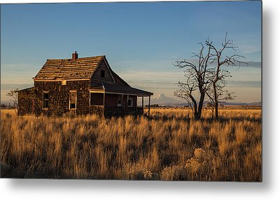 This Old House Metal Print by Angie Vogel