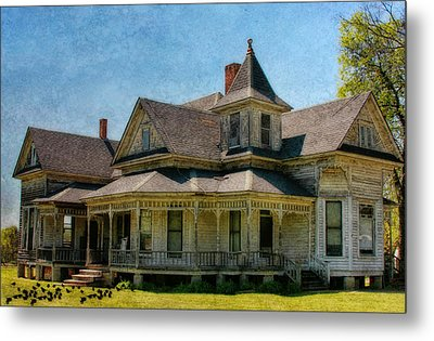 This Old House Metal Print by Joan Bertucci