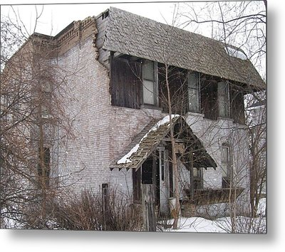 This Old House Metal Print by Jonathon Hansen