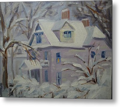 This Old House Metal Print by Robert Martin