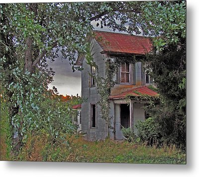 This Old House Metal Print by Trish Clark