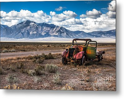 This Old Truck Metal Print by Robert Bales