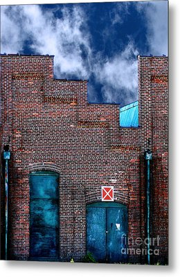 This Property Is Condemned Metal Print