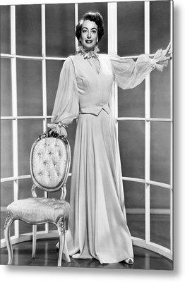 This Woman Is Dangerous, Joan Crawford Metal Print