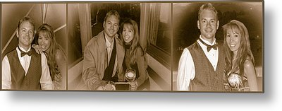 Thomas And Ailina Vi Metal Print by Photographic Art by Russel Ray Photos
