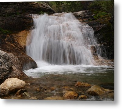 Metal Print featuring the photograph Thomas Canyon Waterfall by Jenessa Rahn