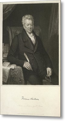 Thomas Clarkson Metal Print by British Library