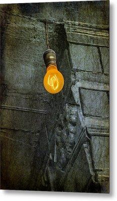 Thomas Edison Lightbulb Metal Print