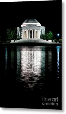 Thomas Jefferson Forever Metal Print by Olivier Le Queinec