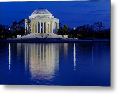 Thomas Jefferson Memorial Metal Print by Andrew Pacheco