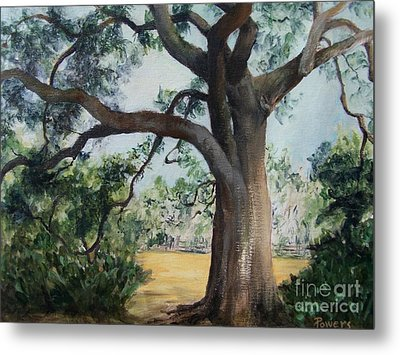 Thomasville Oak Metal Print