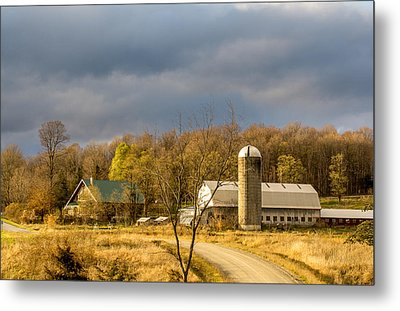 Metal Print featuring the photograph Thompson Point Dairy by Jeremy Farnsworth