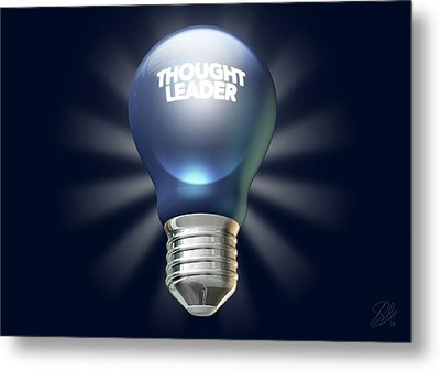 Thought Leader Metal Print by Allan Swart