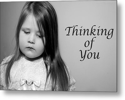 Thoughtful  Metal Print by Stephanie Grooms