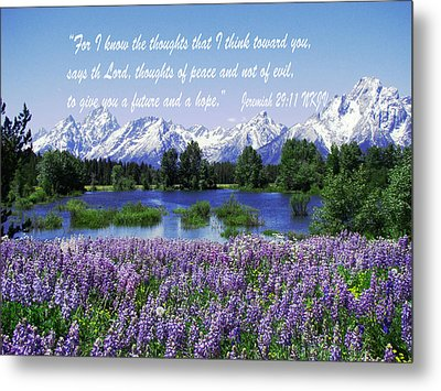 Thoughts Of Peace Metal Print