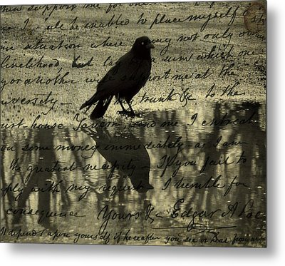 Thoughts Of Poe Metal Print