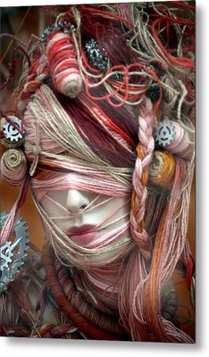Thread Or Alive Metal Print by Jez C Self
