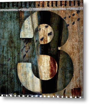 Three Along The Way Metal Print by Carol Leigh