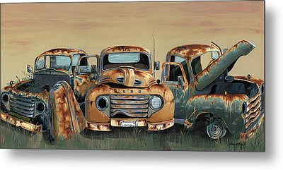 Three Amigos Metal Print by John Wyckoff
