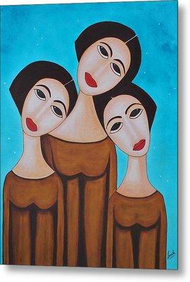Three Angels Metal Print by Sonali Kukreja