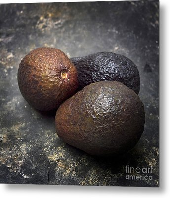 Three Avocados. Metal Print
