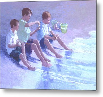 Three Beach Boys Metal Print