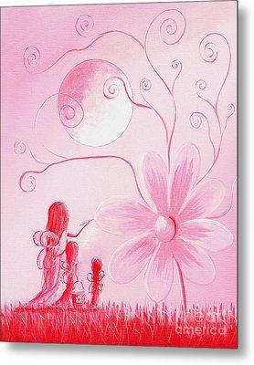 Pink Art Prints By Shawna Erback Metal Print by Shawna Erback