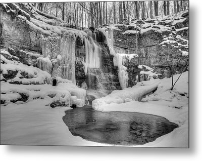 Three Falls Woods Metal Print
