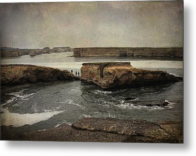 Three Fishermen Metal Print by Laurie Search