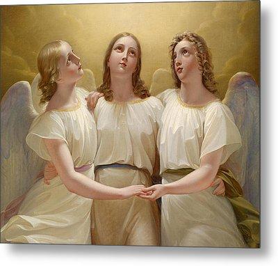 Three Guardian Angel Metal Print