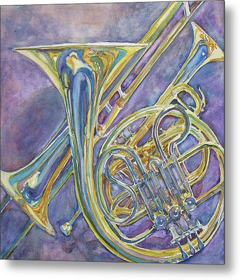 Three Horns Metal Print by Jenny Armitage