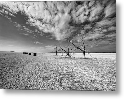 Three Sisters And Five Boxes Metal Print by Peter Tellone