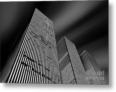 Three Towers Metal Print by Az Jackson