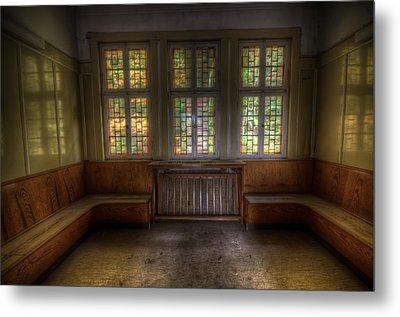 Three Window Waiting  Metal Print by Nathan Wright